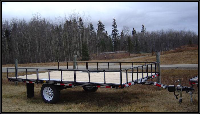 Custom Built Flat Deck Trailer