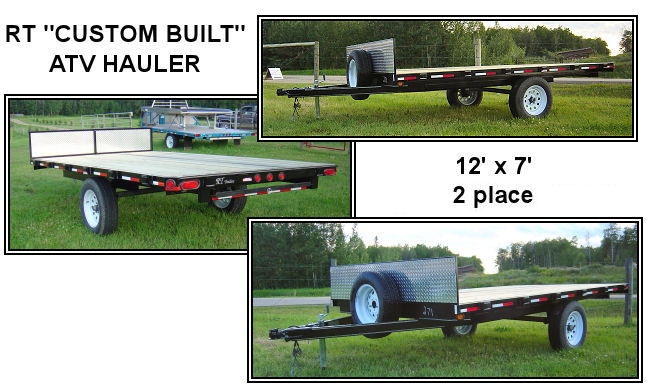 ATV Hauler - 12' by 7' ATV Trailer