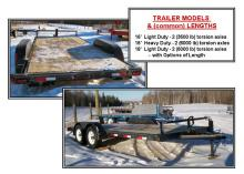 LOWBOY HEAVY DUTY CAR HAULER